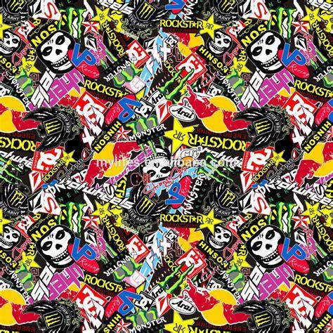 Monster Energy Sticker Wallpapers by Sticker Bomb Energy Drinks Design Vinyl Sheet Best For Car