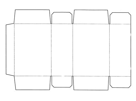 templates for mini boxes box templates this is a cereal box template that fits