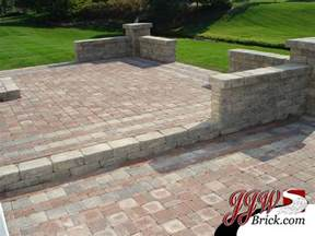 Patio Design Ideas With Pavers Paver Patio Designs Traditional Patio Detroit By Jjw Brick