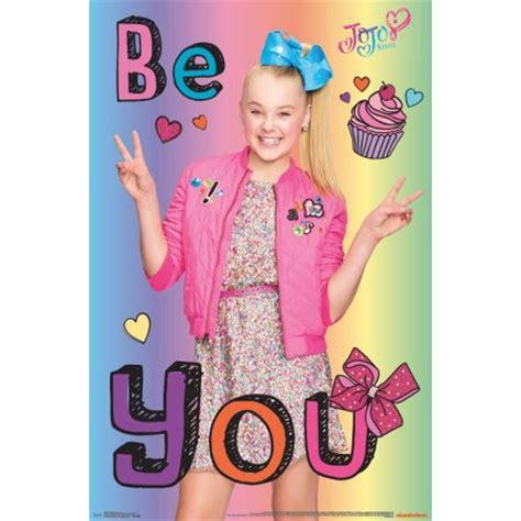 be you activity book jojo siwa books trends international jojo siwa be you wall poster 22 375