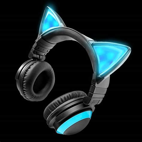 light up cat ear headphones cat headphones pixshark com images galleries with