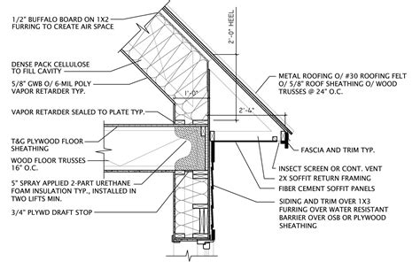 Vaulted Ceiling Construction Details by Vaulted Ceiling Framing Details Integralbook