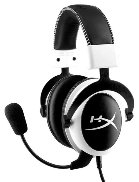 Headset Kingston Hyperx kingston also releases the hyperx cloud white edition gaming headset techpowerup forums