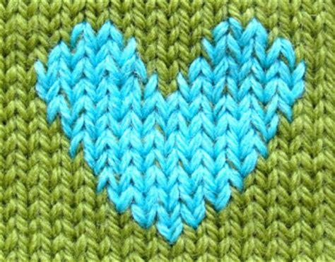 knitting duplicate stitch techknitting duplicate stitching on knitting basic how
