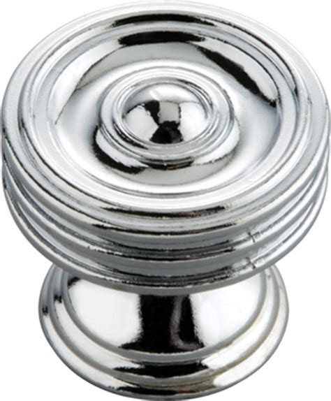 Chrome Kitchen Knobs by Concord Chrome Cabinet Knob Traditional Cabinet And