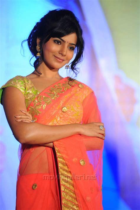 telugu heroines photos in saree telugu heroine samantha saree photos 3e688b3 jpg 1000