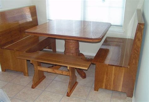 Corner Kitchen Table With Bench And Storage Kitchen Fantastic Corner Kitchen Table With Storage With