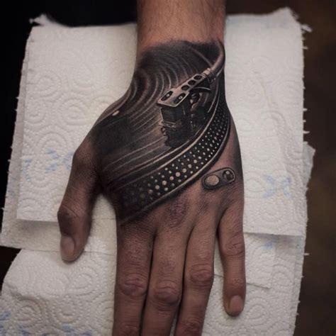 hand tattoo regret vinyl deck hand tattoo http giantfreakintattoo com
