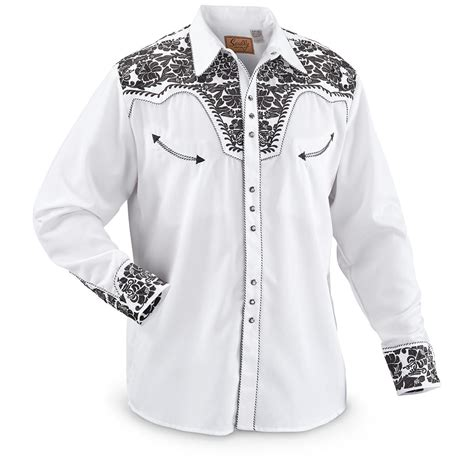 Embroidered Shirt scully s embroidered shirt 229297 shirts at