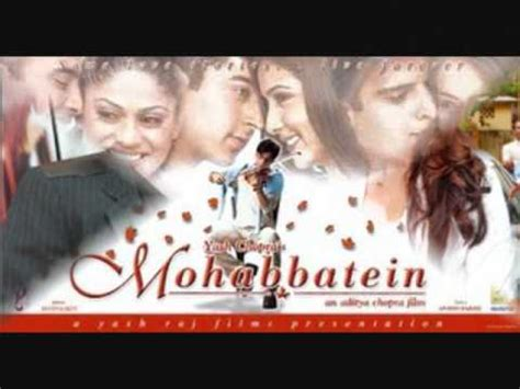 mohabbatein love themes video hindi instrumental music playlist