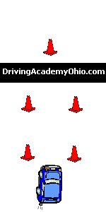 ohio maneuverability test diagram driving academy of ohio l l c drivers education home page