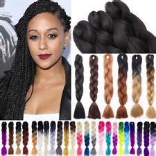 a picture of a pack of kanekolon extra long hair ombre hair extensions clip in hair pieces ebay