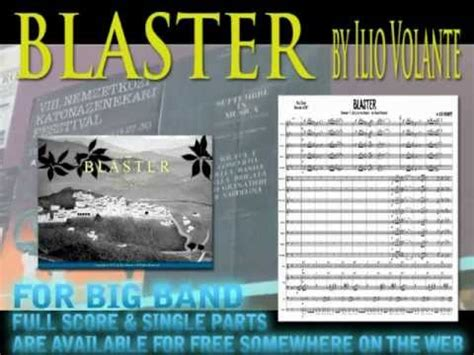 ilio volante blaster by ilio volante big band
