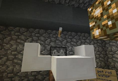 minecraft working bathroom working bathroom no mods required minecraft project