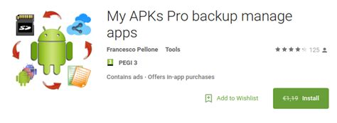 apks for android android app my apks pro backup manage apps for free net load