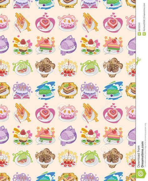 seamless pattern cake seamless cake pattern stock image image 28102341