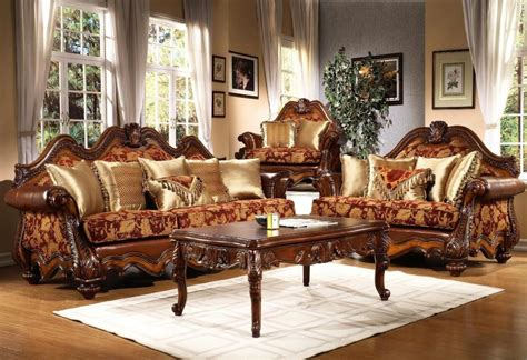 Living Room Furniture Traditional Style Traditional Living Room Furniture With Big Sofa Set Plushemisphere