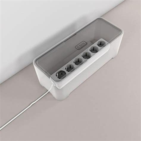 E-BOX – Power Cable Box for Desk & TV & Computer | Cable ... E Box