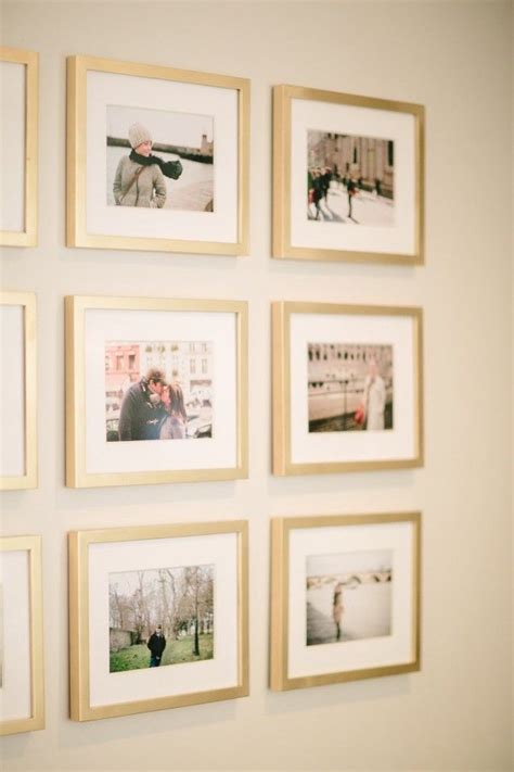 Wall Frames Decor by 25 Best Ideas About Travel Photo Displays On