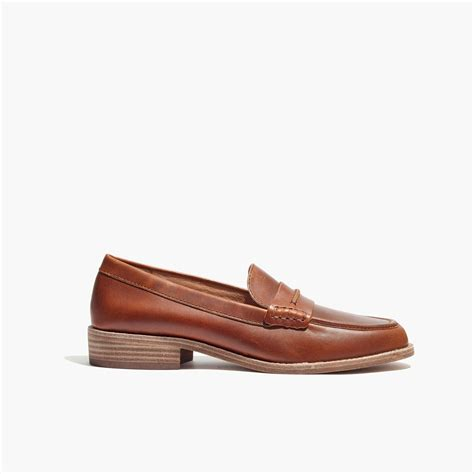 madewell loafers madewell the elinor loafer in leather lyst