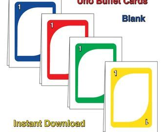 printable uno card template blank uno card white gold