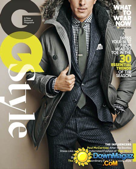 gq hairstyles fall 2015 gq style usa fall winter 2015 187 download pdf magazines