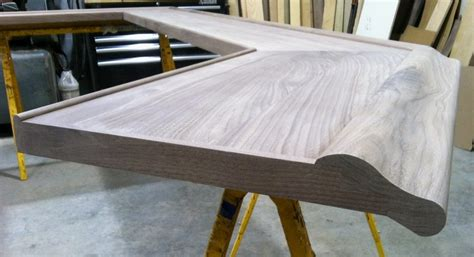 how to finish a bar top how to finish the end of a bar top bar rail hardwoods