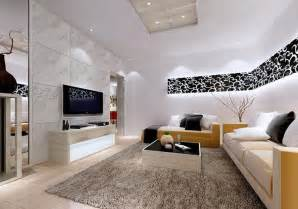 living room interior design modern chinese semi loft hard look with concrete walls ceilings and slate floors