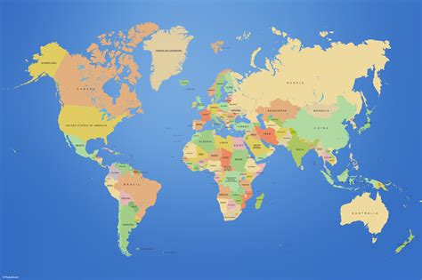 map of the world earth planets earth maps countries world map wallpapers