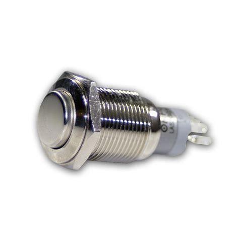 led wandle mit schalter druckschalter metall max 230v 3a schalter mit led