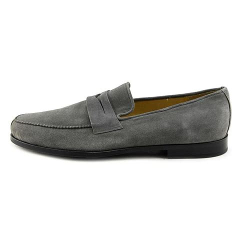 suade loafers arfango sum moc suede gray loafer loafers