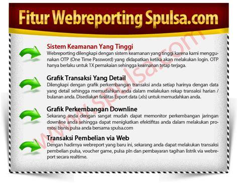 membuat webreport server pulsa webreport s pulsa murah blora