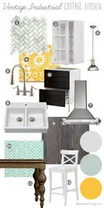 Industrial Faucet Kitchen by Mood Board Vintage Industrial Cottage Kitchen Our Diy