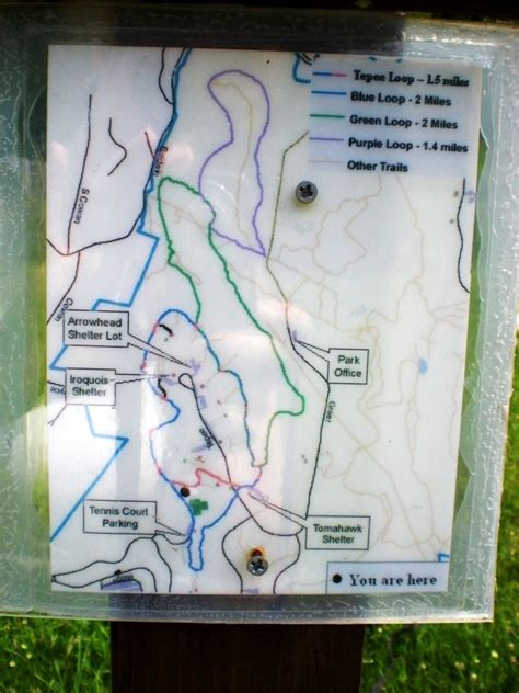 Cabin Park Map by Hiking With Iggy Settler S Cabin Park