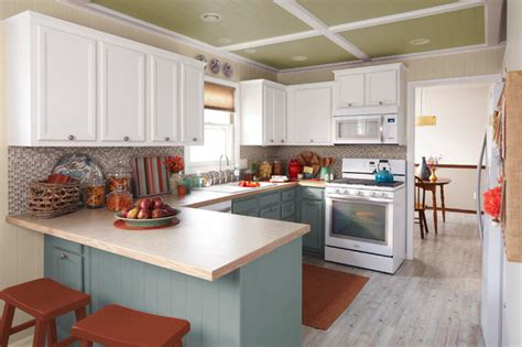 lowes kitchen makeover fall kitchen makeover with accents traditional