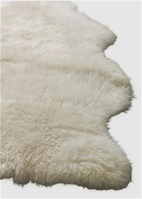 fur rug ikea fresh twist decorating with sheepskin faux fur