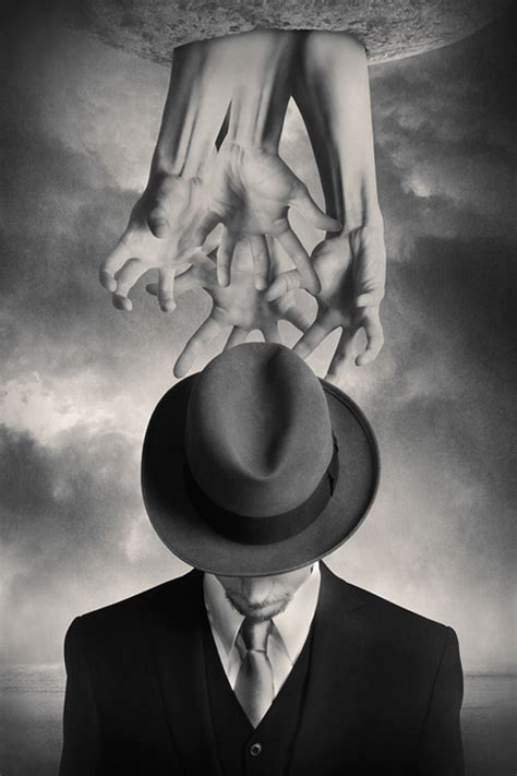 imagenes surrealistas de sueños blanco y negro tommy ingberg universo imaginario taringa