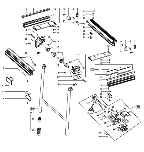 table l parts diagram festool mft 3 vl 495521 multifunction table parts