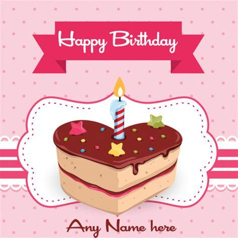 write name on heart touching love birthday wishes cards images