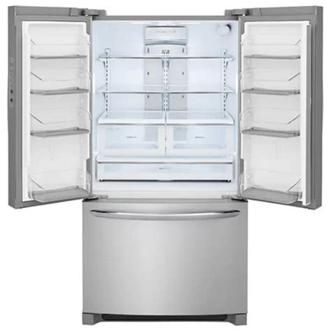 frigidaire cabinet depth refrigerator fghg2368tf frigidaire gallery 22 counter depth french