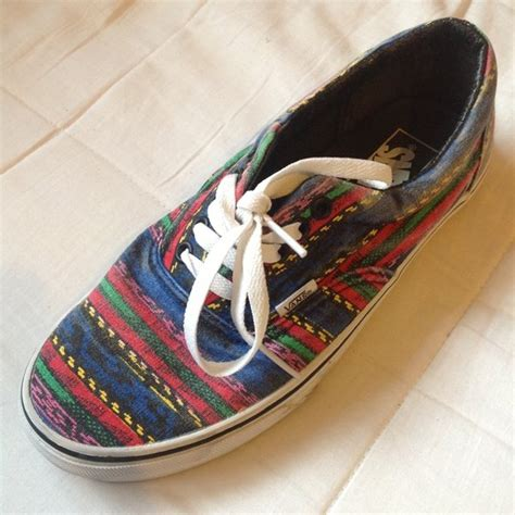 Jual Vans Limited Edition aztec vans limited edition doren uk size 7 only worn a few times rrp 163 54