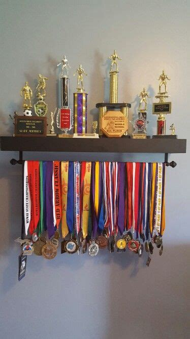 shelf in the room lyrics sports medal and trophy display successful projects sports medals display and room