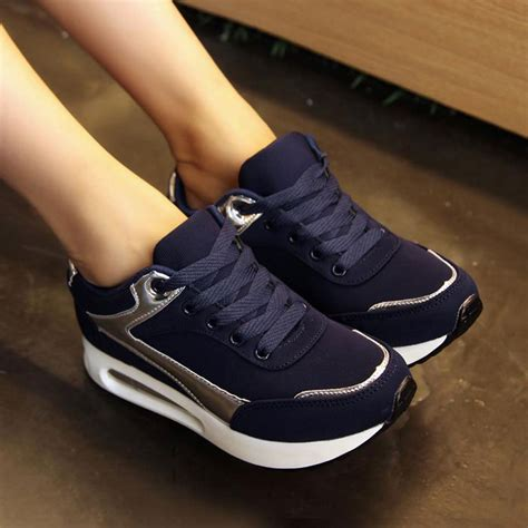 new fashion for black blue color low casualeva shoes