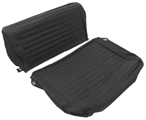 Best Jeep Seat Covers Bestop Seat Cover Rear Bench Black Denim 1965 1995