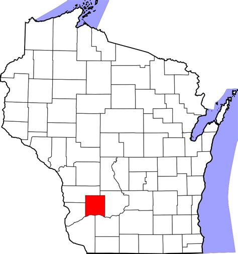 Richland County Search File Map Of Wisconsin Highlighting Richland County Svg Wikimedia Commons