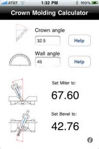 crown molding calculator app for ipad iphone