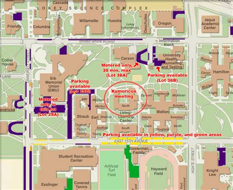 uoregon map kumoricon 187 march general meeting