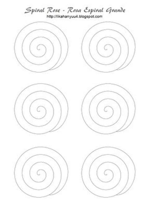 spiral paper flower pattern lika hanyuu artesanato quilling quilling pattern