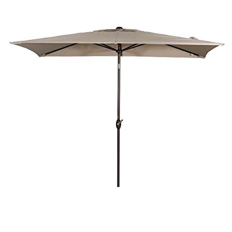 Patio Umbrellas Rectangular Abba Patio Rectangular Patio Umbrella Market Umbrella With Import It All