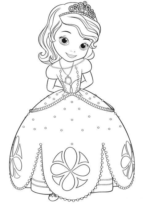 Sofia The Coloring Page dibujos de la princesa sofia para colorear dibujos disney